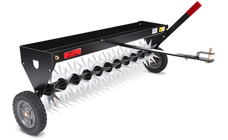 Brinly tow behind spike aerator