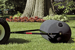 tow-behind lawn roller