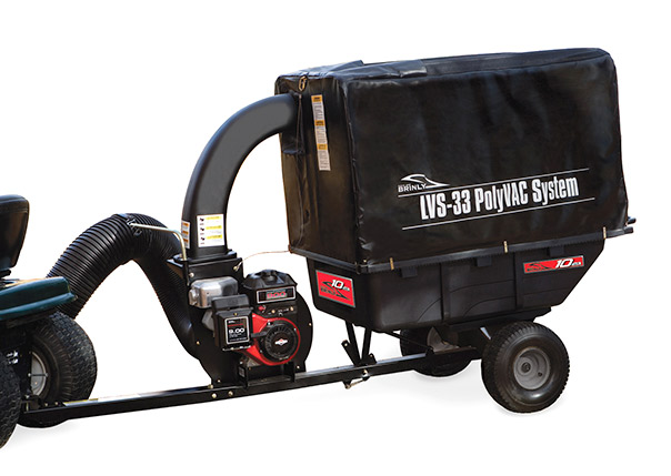 Polyvac Lawn Vacuum Lvs 33bh Brinly Hardy Lawn And