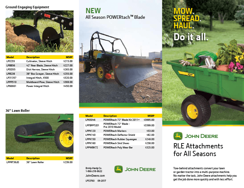 2017 JD Pricing Brochure RevFallWEB - John Deere